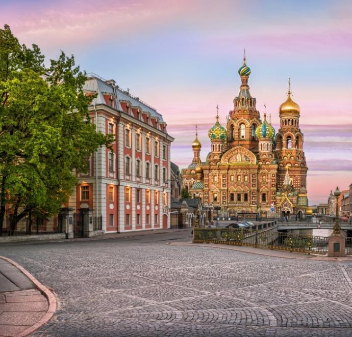 Cerkiew wSant Petersburgu